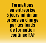 formations minimum 3 jours